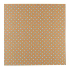 Patterned single-sided blue 3D dot
