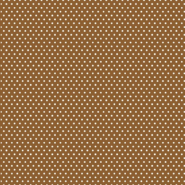 Patterned single-sided brown sm.dot