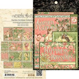 Garden Goddess Ephemera Cards
