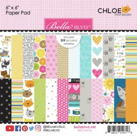 "Chloe Paper Pad 6""X6"""