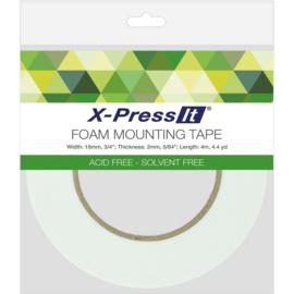 """Double-Sided Foam Tape 18mm .75""""X4.4yd"""