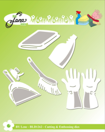 Cutting & Embossing Dies Cleaning 1