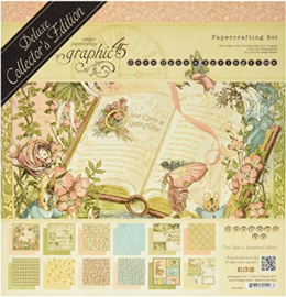 """Once Upon A Springtime Deluxe Collector's Edition Pack 12""""X12"""""""