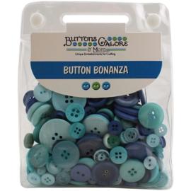 Button Bonanza Ocean Blue