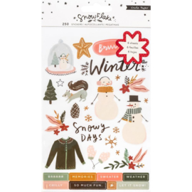 Snowflake Sticker Book