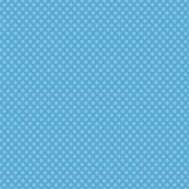 Patterned single-sided l.blue l.dot