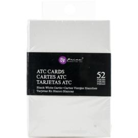 "Altered ATC Card Set 2.25""X3.5"" White"