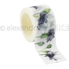 Flowers Washi Tape Cornflower