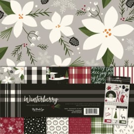 "Winterberry Paper & Accessories Kit 12""X12"""