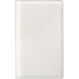 "White Glitter Tall Creative Photo Album 8""X13.5""X2"""