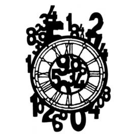 Des chiffres sur l'horloge