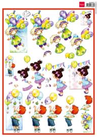 3DHM071 Snoesjes balloons & birthdays