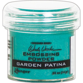 Embossing Powder Garden Patina