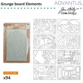 Grungeboard elements