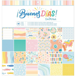 "Obed Marshall Buenos Dias Paper Pad 12""X12"""