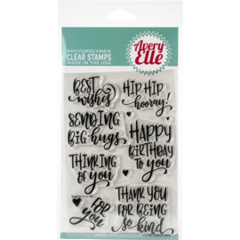 "Clear Stamp Set So Kind 4""X6"""