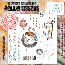 #006- 6'X6' Stencil By Autour De MWA