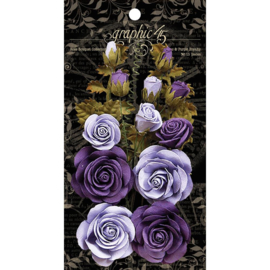 Rose Bouquet Collection French Lilac & Purple Royalty