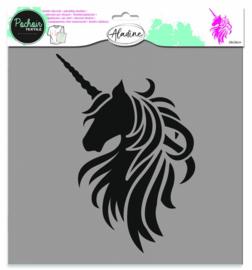 Texture Stencil Unicorn