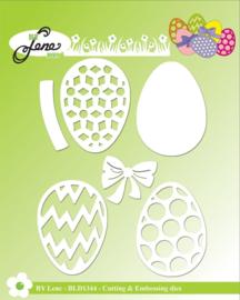 Cutting & Embossing Dies Eggs