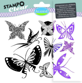 Stampo Clear Butterfly