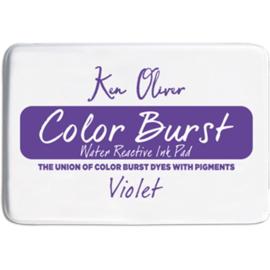 Color Burst Ink Pad Violet