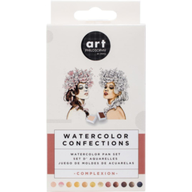 Confections Watercolor Pans Complexion