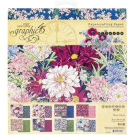 "Blossom Paper Pad 8""X8"""