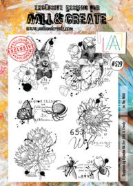 #529 - A4 Stamp Set