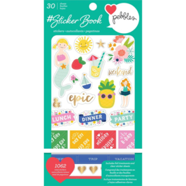 Pebbles Sticker Book