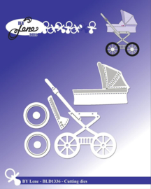 Cutting & Embossing Dies Baby Carriage