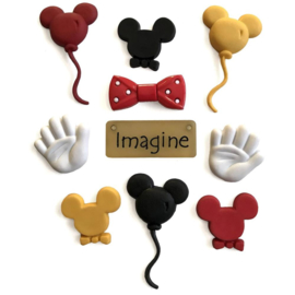 Button Theme Pack Mouse Ears