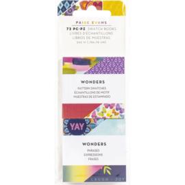 Wonders Mini Swatch Books