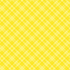 """Patterned single-sided 12x12"""" yellow plaid"""