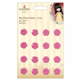 Gorjuss Mini Flower Stickers