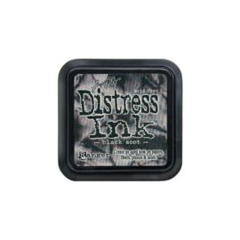 Black Soot Distress Ink Pad