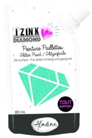 Izink Diamond Glitter Paint 24 Carats Turquoise