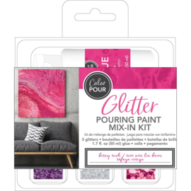 Glitter Mix-In Kit Berry Rush