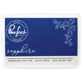 Premium Dye Ink Pad Sapphire