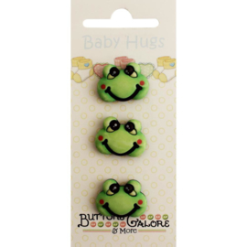 Baby Hugs Buttons Froggy