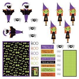 Monster Mash Cardstock Die-Cut Sheet