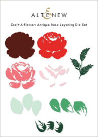 Die Set Craft-A-Flower: Antique Rose Layering