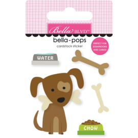 Cooper Bella-Pops 3d Stickers