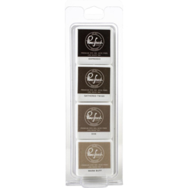 Premium Dye Cube Ink Pads 4 Colors Wild Truffles