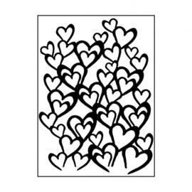 Envolée de coeurs
