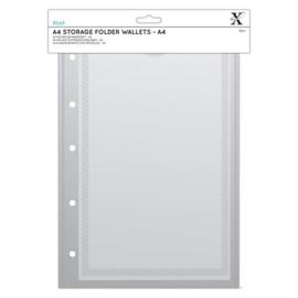 A4 Storage Folder Wallets - A4