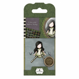 Gorjuss Collectable Rubber Stamp No. 12 On Top Of The World