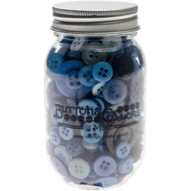 Button Mason Jars Open Seas