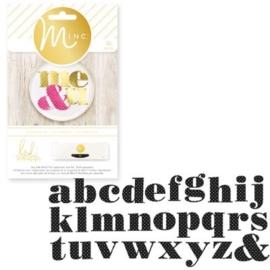 Minc alphabets polka dot x55