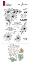 Stamp & Die Bundle Floral Dahlia